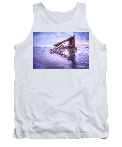 A Stormy Peter Iredale Tank Top