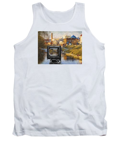 Tank Top featuring the photograph The Photographer's Way Of Seeng by Vladimir Kholostykh