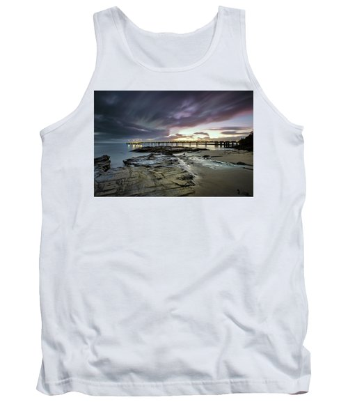 The Pier @ Lorne Tank Top by Mark Lucey