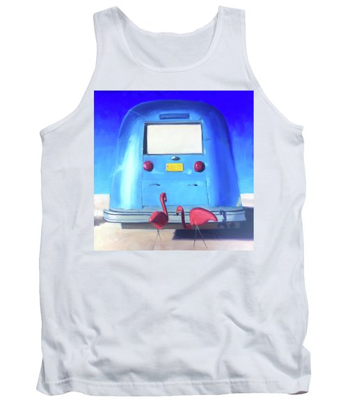 The Pink Hitchhikers Tank Top