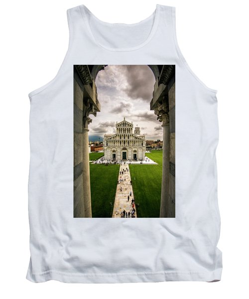 The Pisa Cathedral From The Bapistry Tank Top