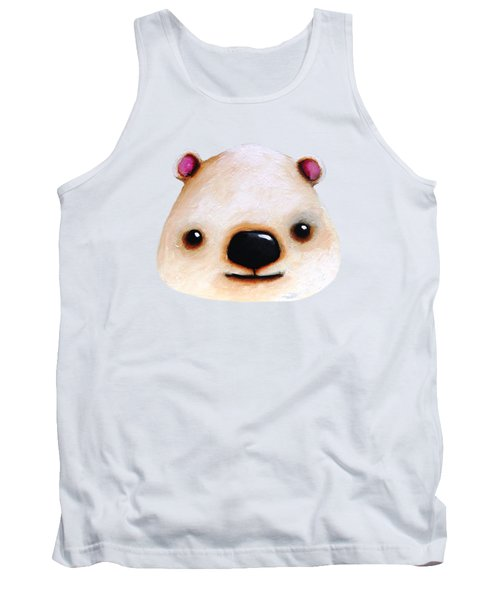 The Polar Bear Tank Top by Lucia Stewart