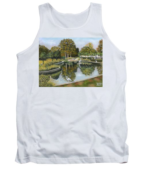 The Pond At Maple Grove Tank Top