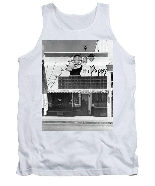 The Poppy, Coffee Shop, Fountain, Alvarado Street, Monterey Circ Tank Top