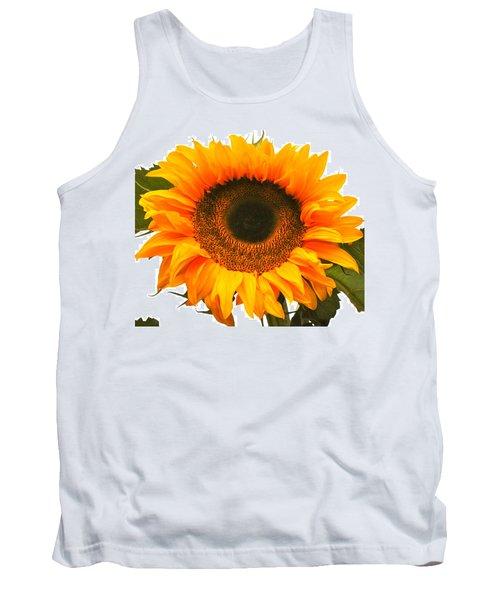 The Prettiest Sunflower Tank Top