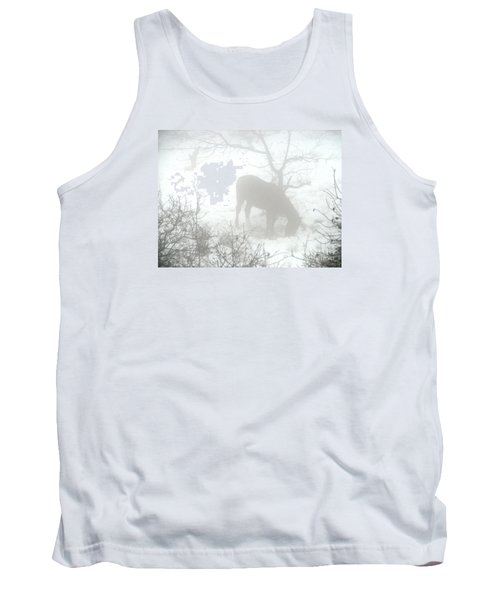 Tank Top featuring the photograph The Primal Mist by Annemeet Hasidi- van der Leij