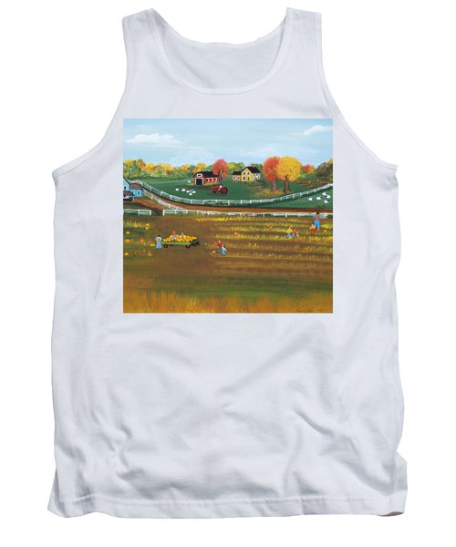 The Pumpkin Patch Tank Top by Virginia Coyle