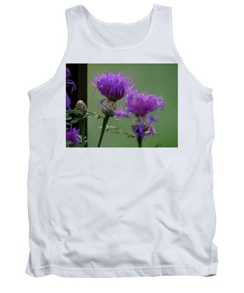 The Purple Bloom Tank Top