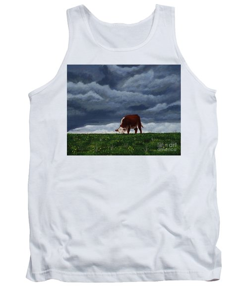 The Quiet Before The Storm Tank Top