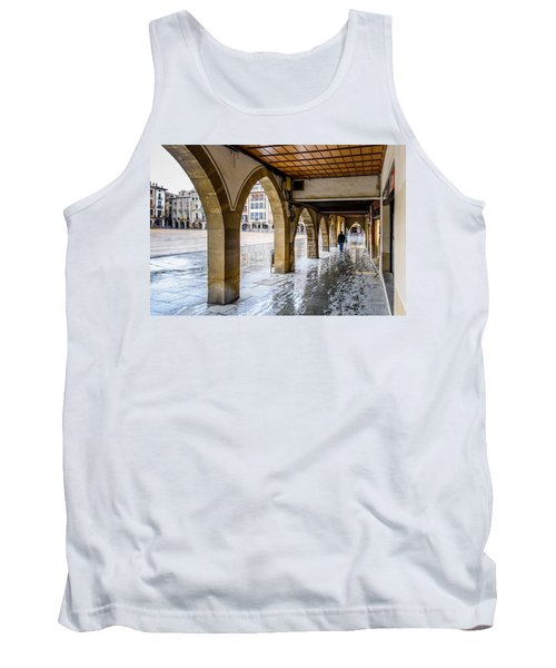 The Rain In Spain Tank Top by Randy Scherkenbach
