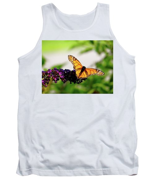 The Resting Monarch Tank Top