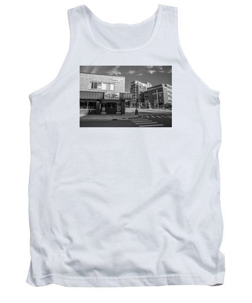 The Riv Ion Black And White Tank Top