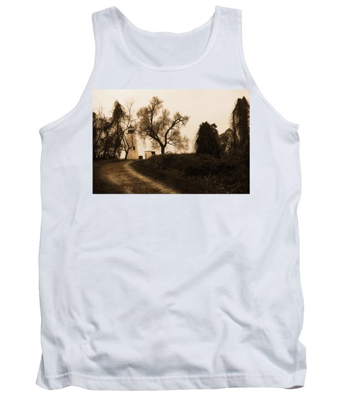 The Road To Turkey Point Lighthouse Tank Top