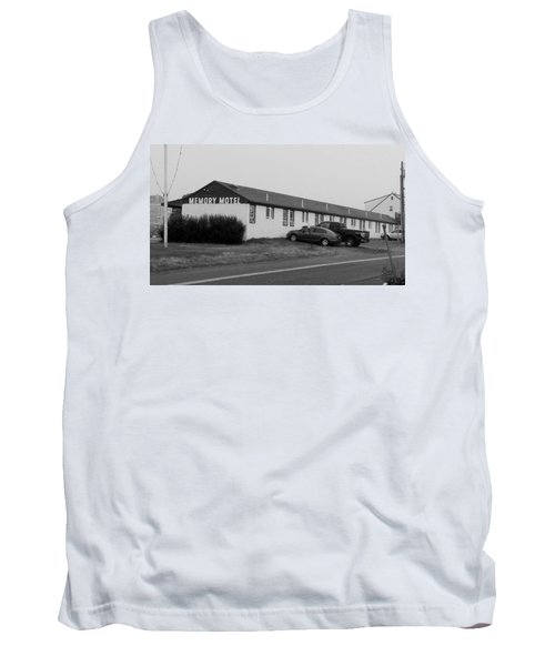 The Rolling Stones' Memory Motel Montauk New York Tank Top