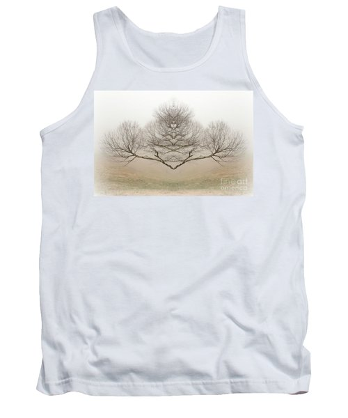 The Rorschach Tree Tank Top