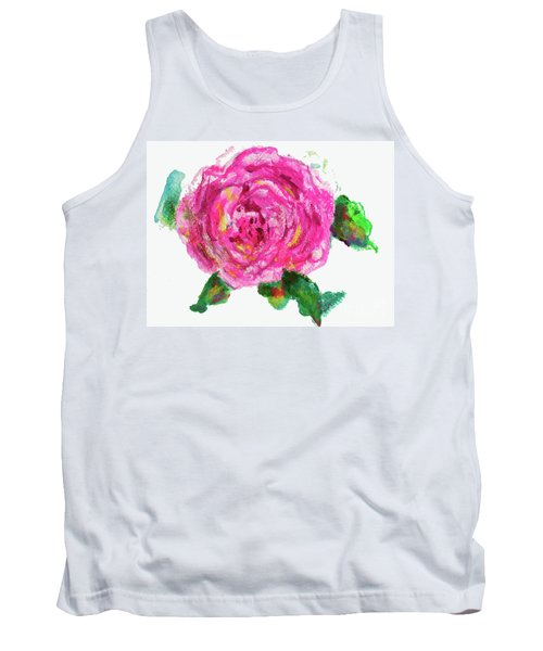 The Rose Tank Top by Beth Saffer