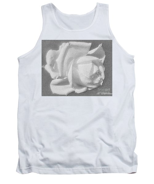 Tank Top featuring the digital art The Rose by Saribelle Rodriguez