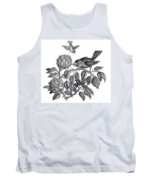 The Roses And The Sparrow Tank Top