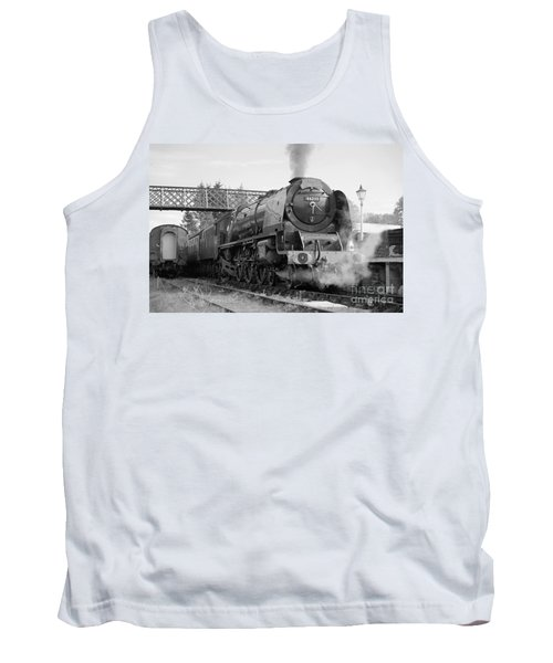 The Royal Scot In Black And White Tank Top