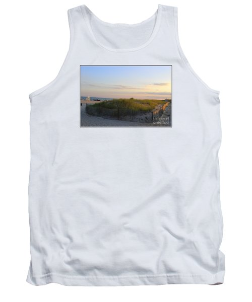 The Sand Dunes Of Long Island Tank Top by Dora Sofia Caputo Photographic Art and Design