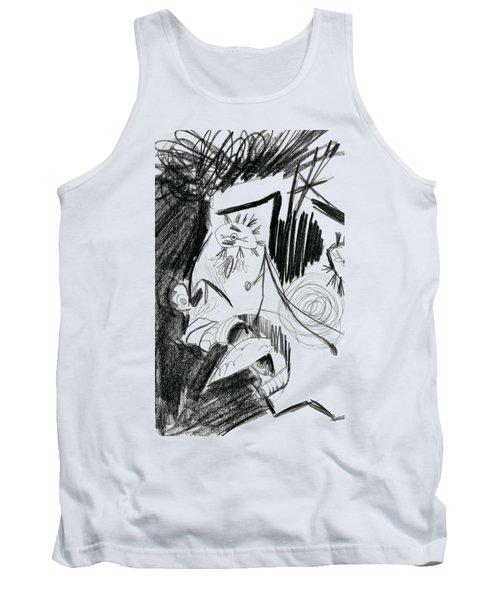 The Scream - Picasso Study Tank Top
