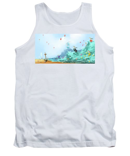 The Seagull's Cup..the Oldest Trophy In The Seafaring Calendar Tank Top
