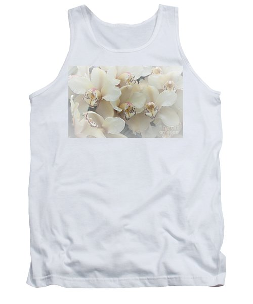 The Secret To Orchids Tank Top by Sherry Hallemeier
