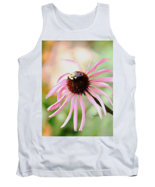 Tank Top featuring the photograph The Sharing Game by Deborah  Crew-Johnson