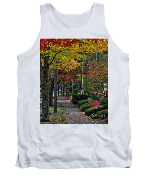 The Sidewalk And Fall Tank Top