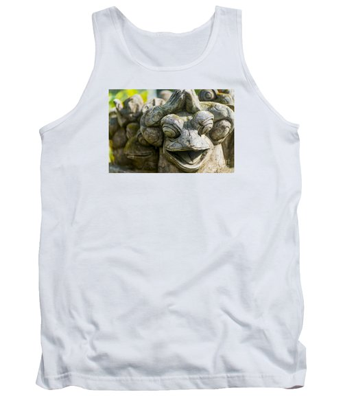 the Smiling Frog Tank Top
