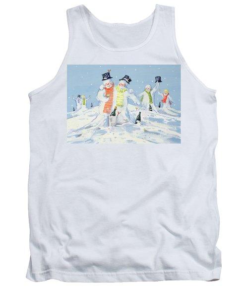 The Snowmen's Party Tank Top