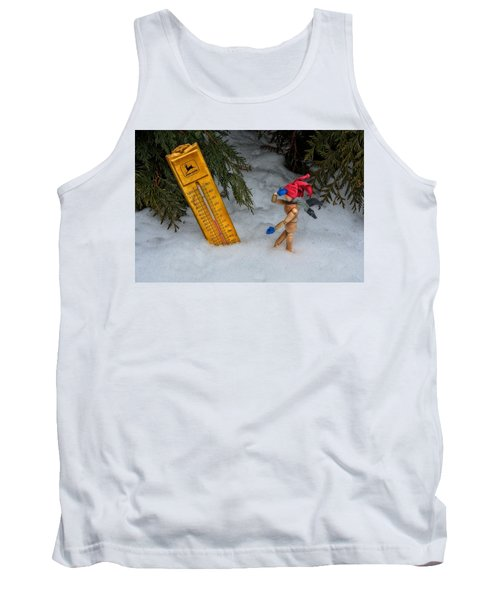 The Snowstorm Tank Top by Mark Fuller