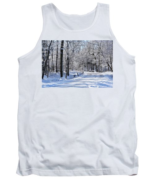 The Snowy Road 1 Tank Top