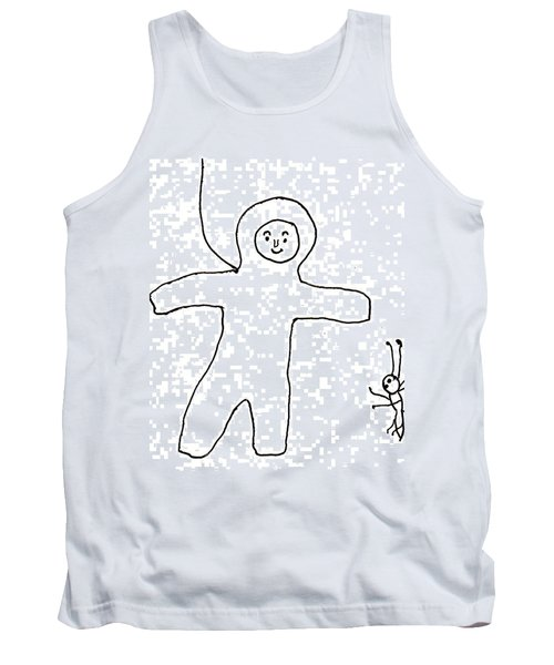 The Spaceman Tank Top