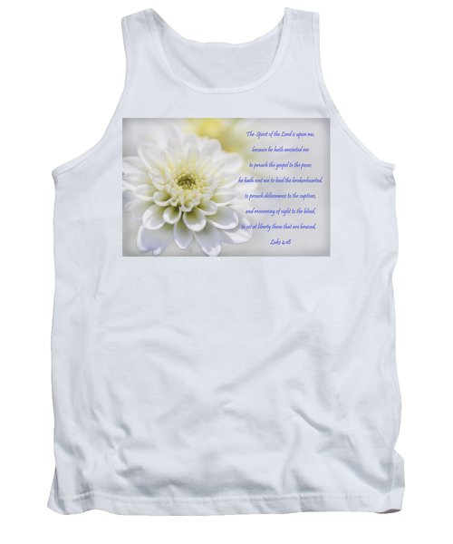 The Spirit Of The Lord Is Upon Me Tank Top