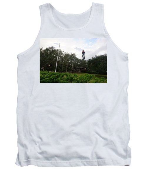 The St. Augustine Light Station Tank Top