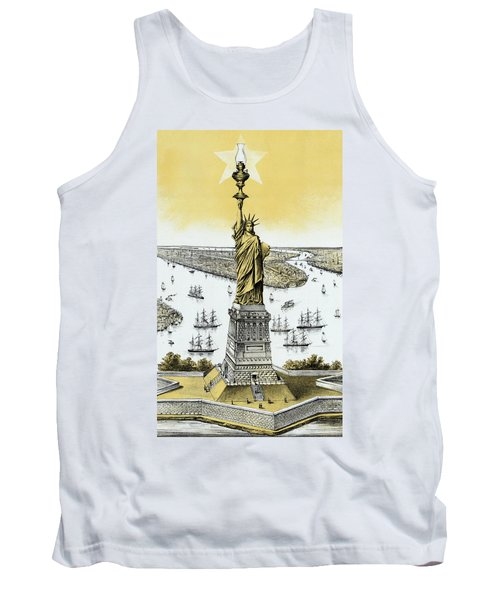 The Statue Of Liberty - Vintage Tank Top