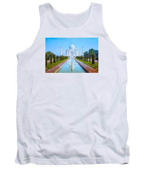 The Taj Mahal Of India Tank Top