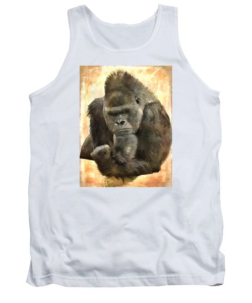 The Thinker Tank Top by Diane Alexander