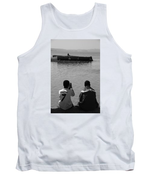 Tank Top featuring the photograph The Thoughts Of Mermaids  by Jez C Self