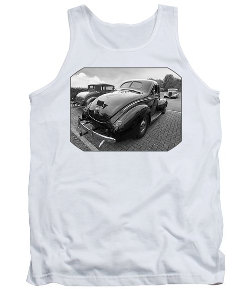 The Three Amigos - Hot Rods In Black And White Tank Top