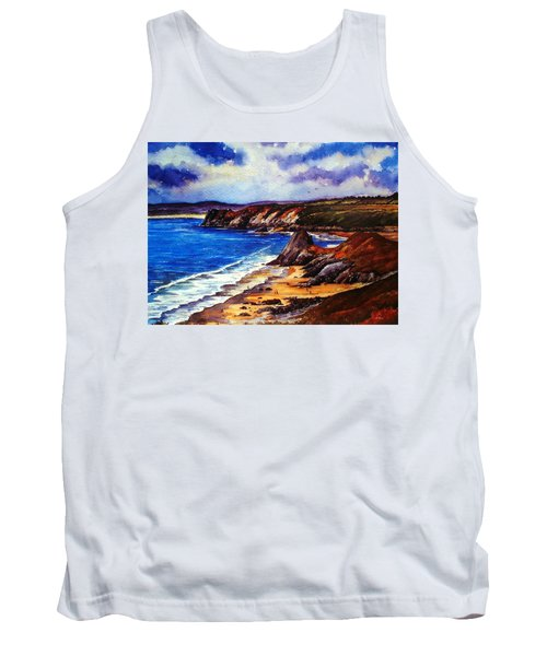 The Three Cliffs Bay Tank Top