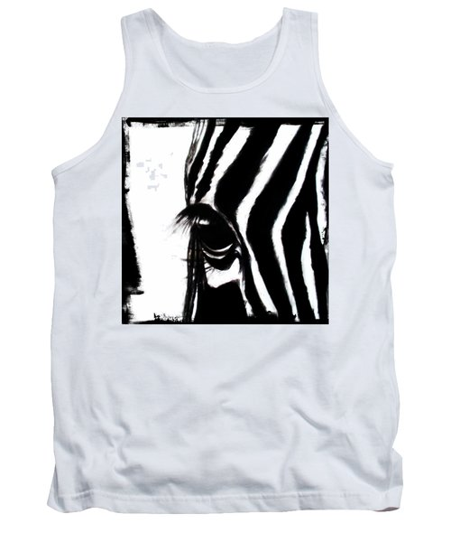 The Three Musketeers - Zebra Tank Top