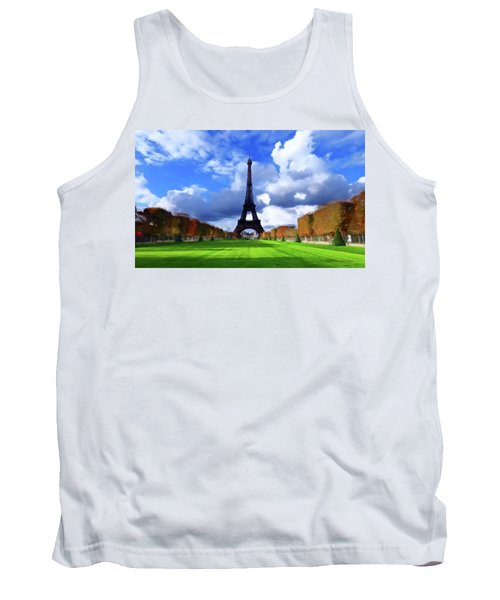 The Tower Paris Tank Top by David Dehner