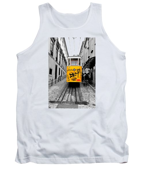 The Tram Tank Top by Marwan Khoury