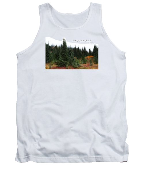 Tank Top featuring the photograph The Trees by Lynn Hopwood