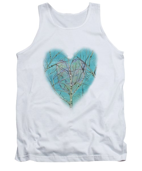 Tank Top featuring the painting The Trees Speak To Me In Whispers by Deborha Kerr