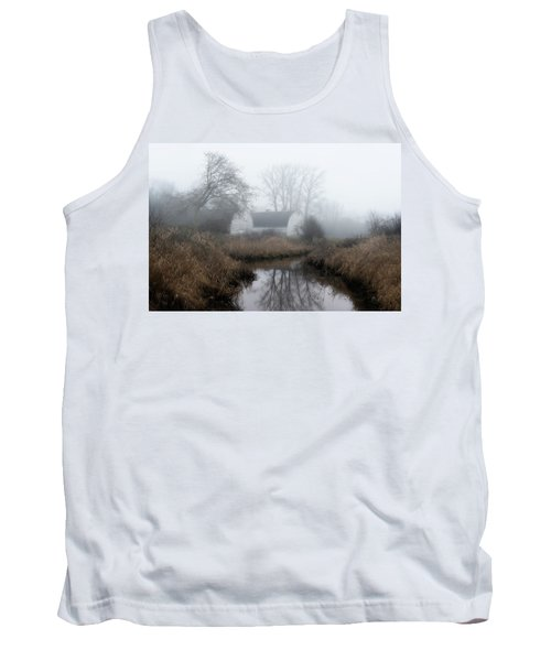 The Twin Barns Of Nisqually Tank Top