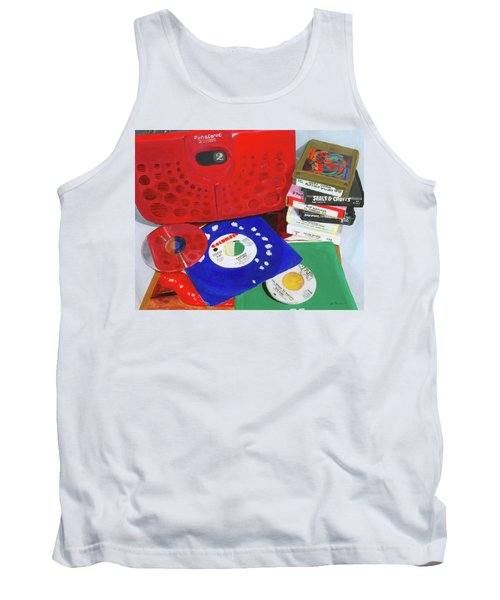 Tank Top featuring the painting The Universal Language by Lynne Reichhart