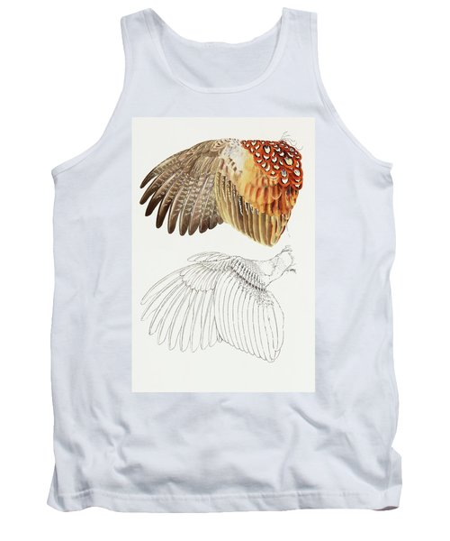 The Upper Side Of The Pheasant Wing Tank Top